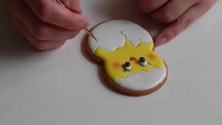 Пряник Пасхальный цыпленок в скорлупе / Easter chick Gingerbread