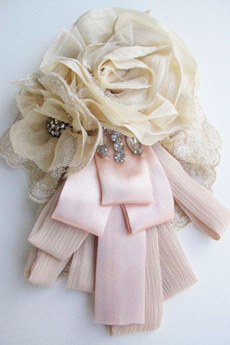 Pretty Corsage to make, would be lovely to have as Mother of the Bride, then keep to wear for Mother's Day each year. Memories will flood back...