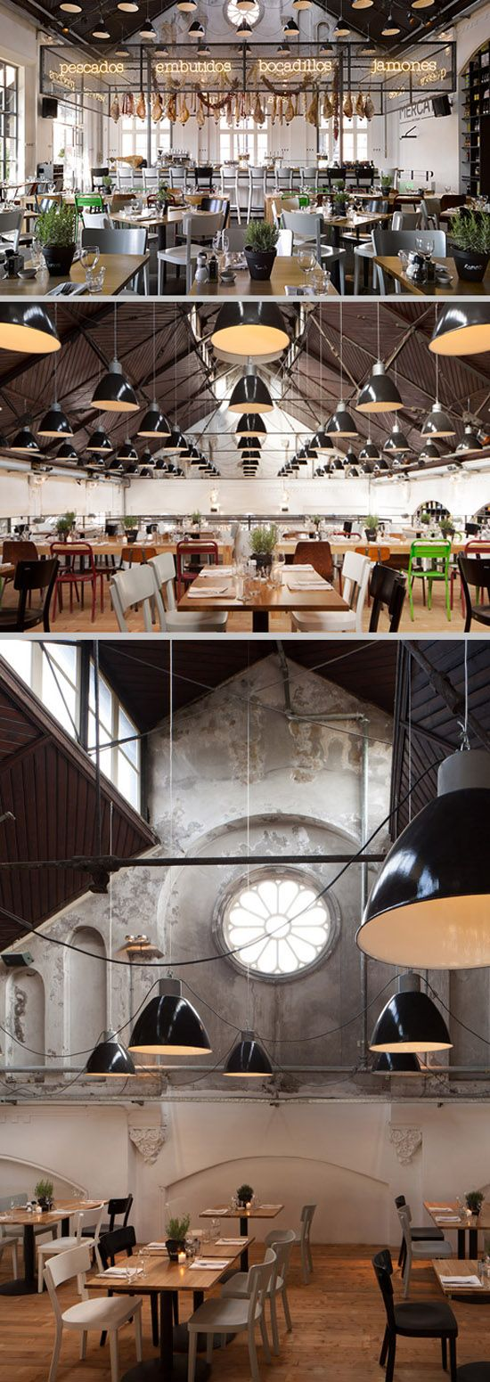 #Restaurant Mercat, Amsterdam. Awesome Tapas and spanish dishes! http://www.mercat.nl #amsterdam #retailinteriors