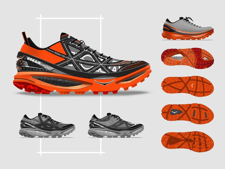 HOKA Mafate 4 by Ghost Works industrial design consultancy