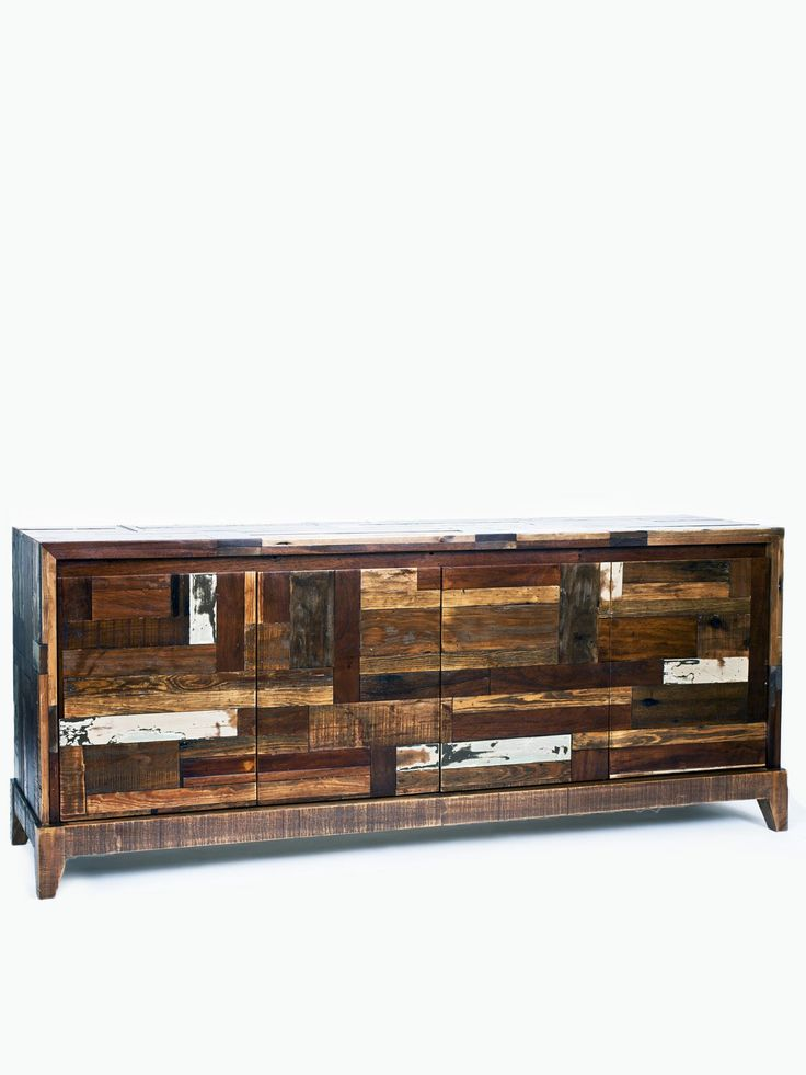 Las 25 mejores ideas sobre mesas de madera recuperadas en for Muebles de derribo