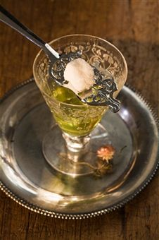 Absinthe. Odour profile: aromatic and medicinal note that smells strongly of anise and fennel.