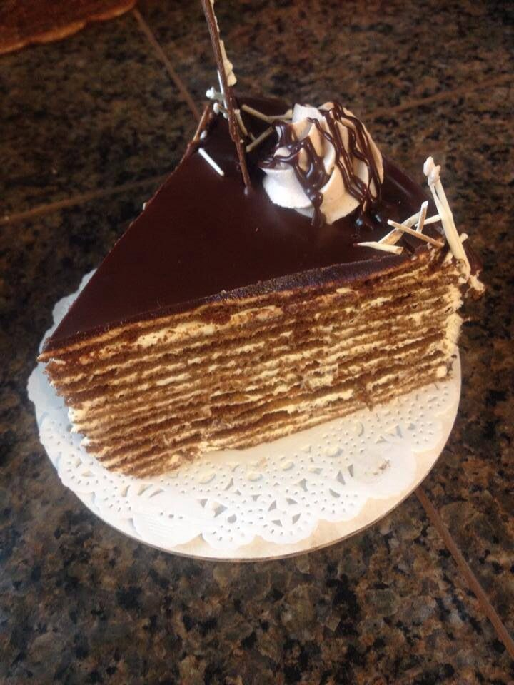 Chocolate Russian Spartak cake!!!