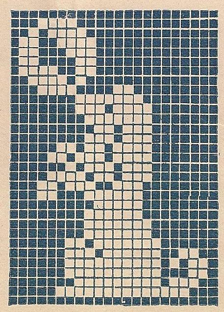 Knitting Pattern With Animals Motifs On : 242 best FILET PER CORREDINO NEONATI images on Pinterest Filet crochet, Cro...