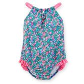 She'll love making a splash in this cute suit! Perfect for summer days at the pool or front-yard sprinkler parties.