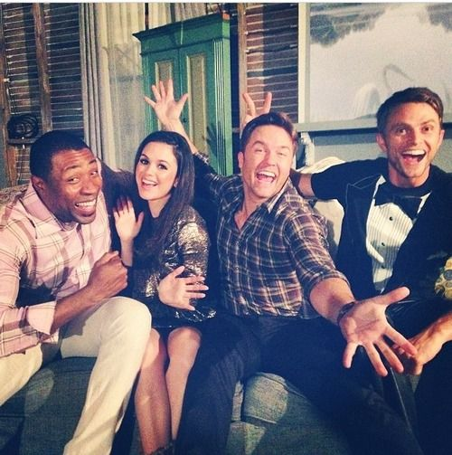 Cress Williams, Rachel Bilson, Scott Porter & Wilson Bethel