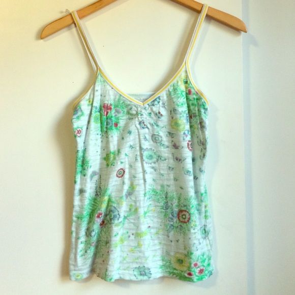 Free people spaghetti strap tank top Tank top is in perfect condition! Free People Tops Tank Tops