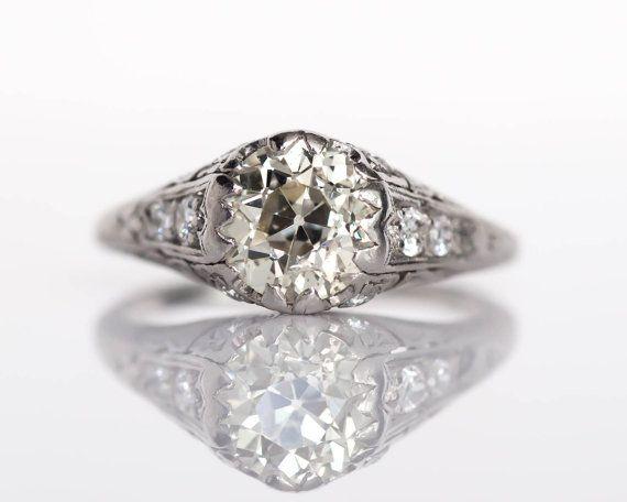 194 best Edwardian Engagement Rings images on Pinterest Ring