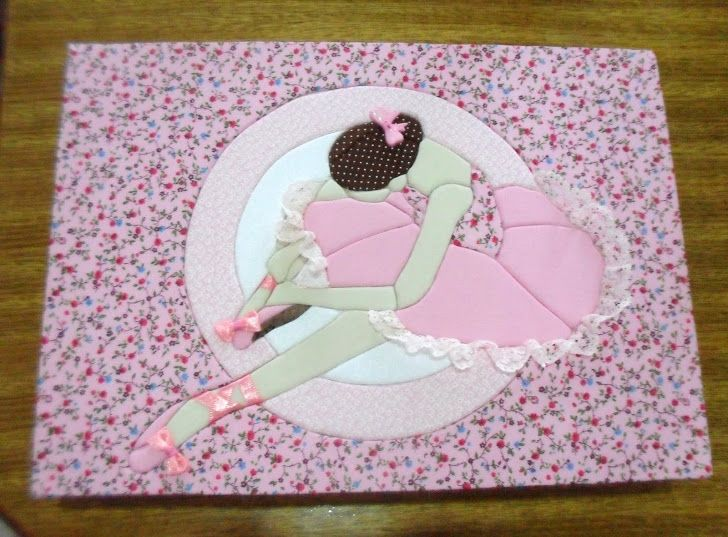 caixa bailarina rosa