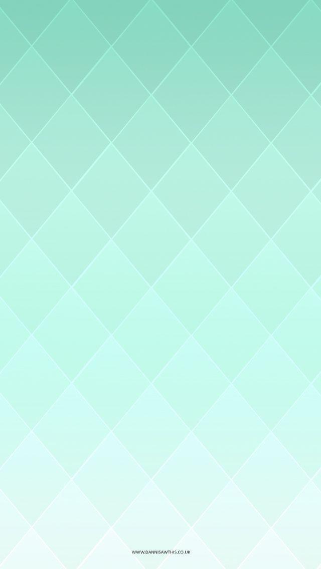 Diamond Gradient Mint Tjn Mint Green Wallpaper Mint Green