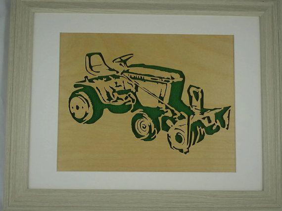 Tracteur John Deere 317 et 49 souffleuse bois de par KevsKrafts