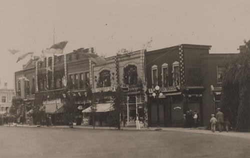 1927 Goderich Centennial Celebration #Goderich #GoderichOn #Vintage