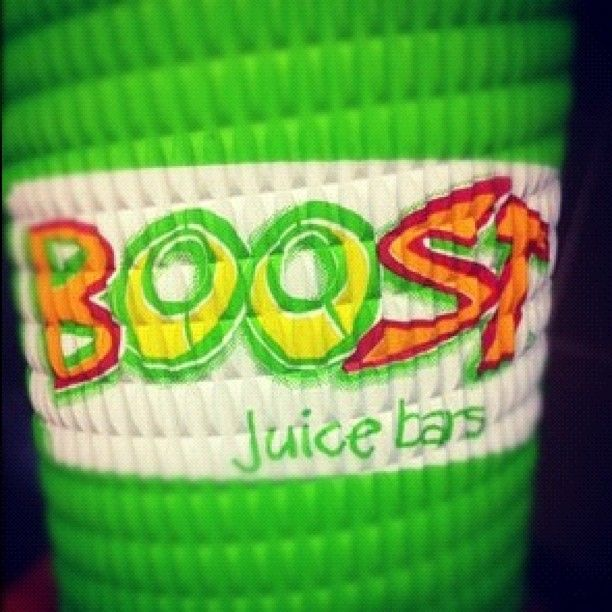 Boost juice - my all time fave