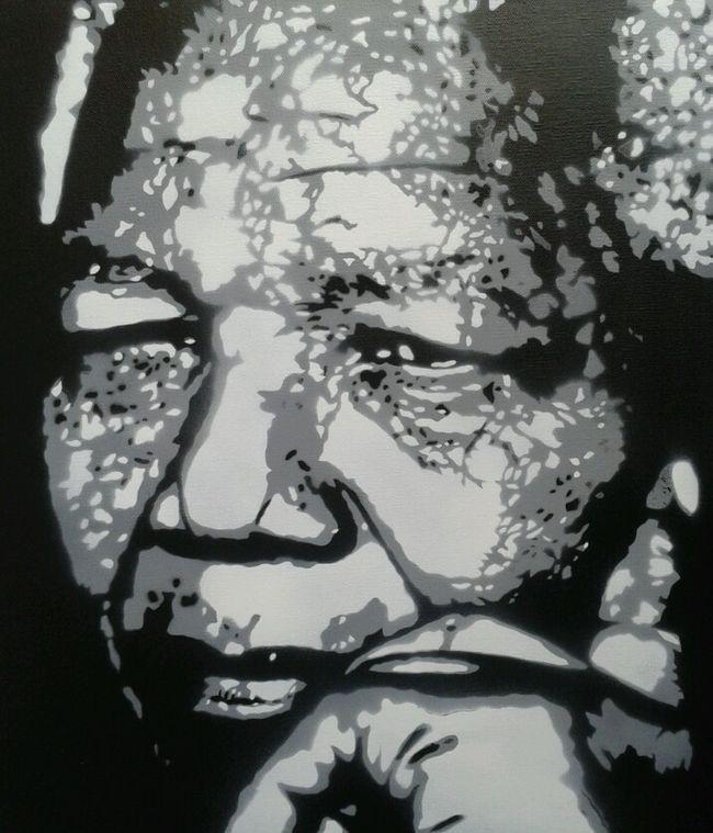 Street Art By Alex Lgc - La Garenne-Colombes (France) #Madiba