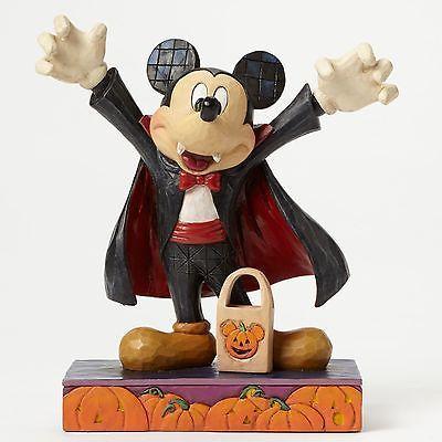 Disney traditions jim #shore #vampire dracula mickey #mouse halloween figurine…
