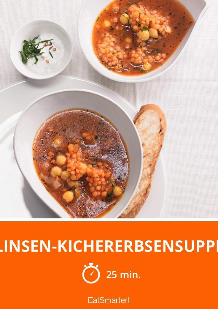 Linsen-Kichererbsensuppe – liefert Proteine und Ballaststoffe satt!