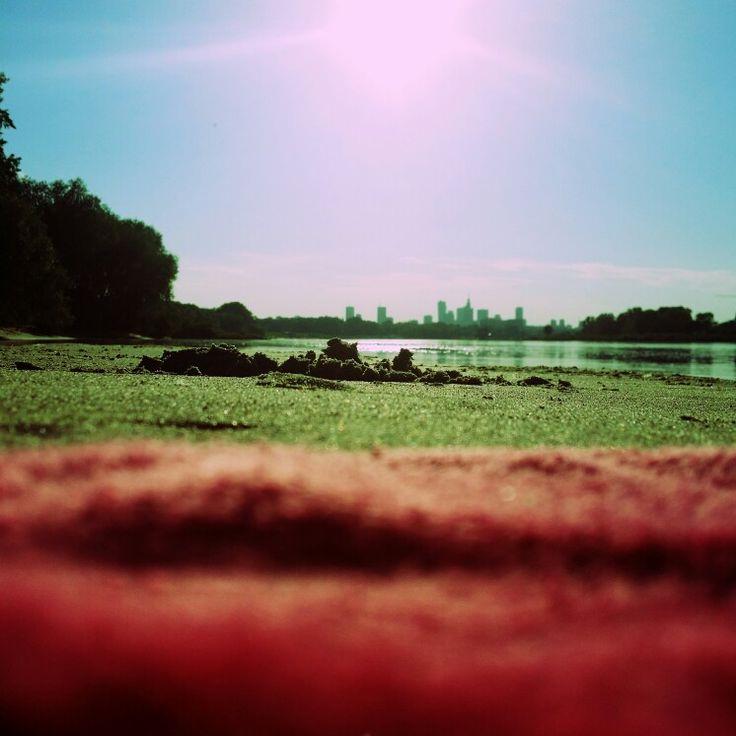 Summer at Warsaw. Photo by Magdalena Łobaczewska