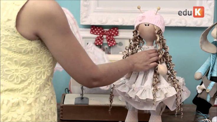 Curso online de Bonecas de pano e bichinhos articulados 2 | eduK.com.br