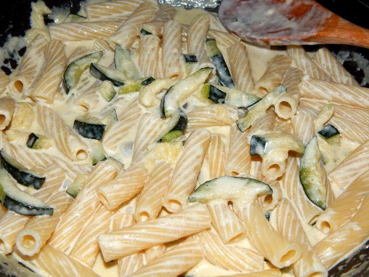 Cukkinis tészta recept