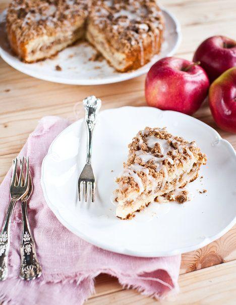 Křupavou drobenku osvěžíte jablkem a ciderovou polevou; Greta Blumajerová