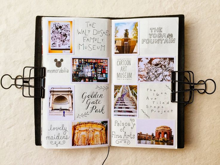 My Midori Traveler's Notebook - Photo Journal / pepper and twine                                                                                                                                                      More