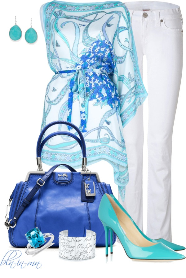 """Amazing Emilio Pucci Top"" by bln-in-mn ❤ liked on Polyvore"