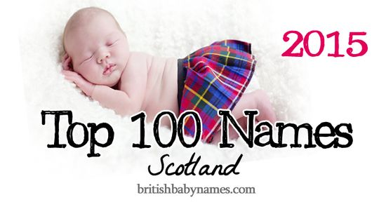 The provisional 2015 top 100 for Scotland is out. Jack and Emily still reign but Aria and Arya and Jackson and Jaxon have made big leaps. And, yay! Penelope is now in the Scottish top 100, too!