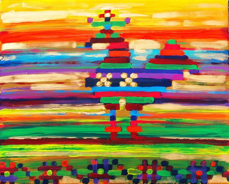 Awakening (50 cm x 40 cm)
