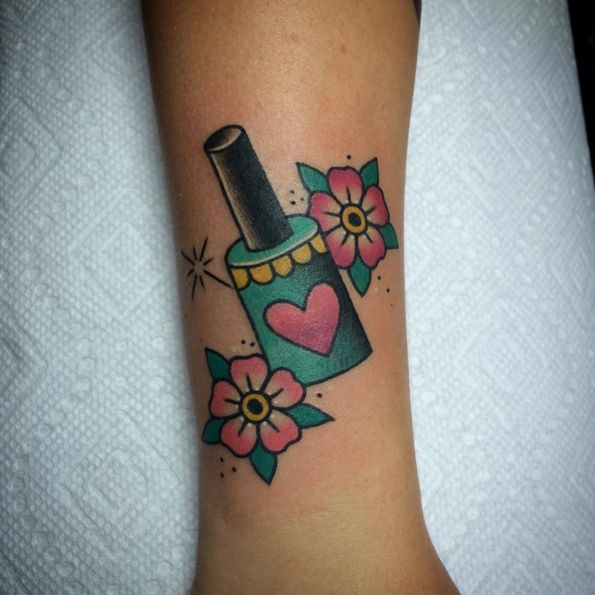 15 Tattoos That Will Give You Ink Envy #refinery29 http://www.refinery29.com/beauty-inspired-tattoos#slide-13
