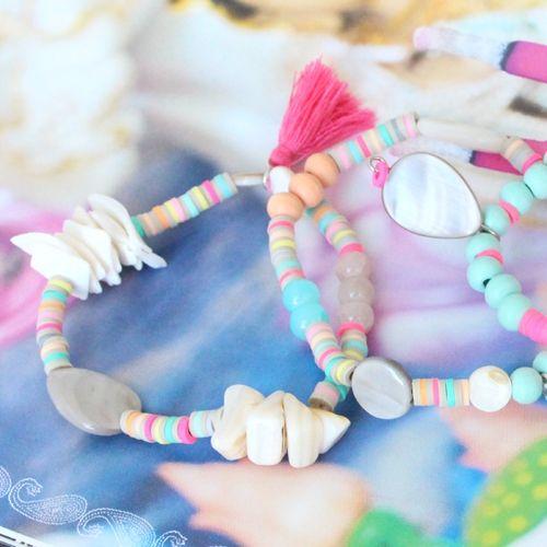 Zomerse sieraden van katsuki kralen