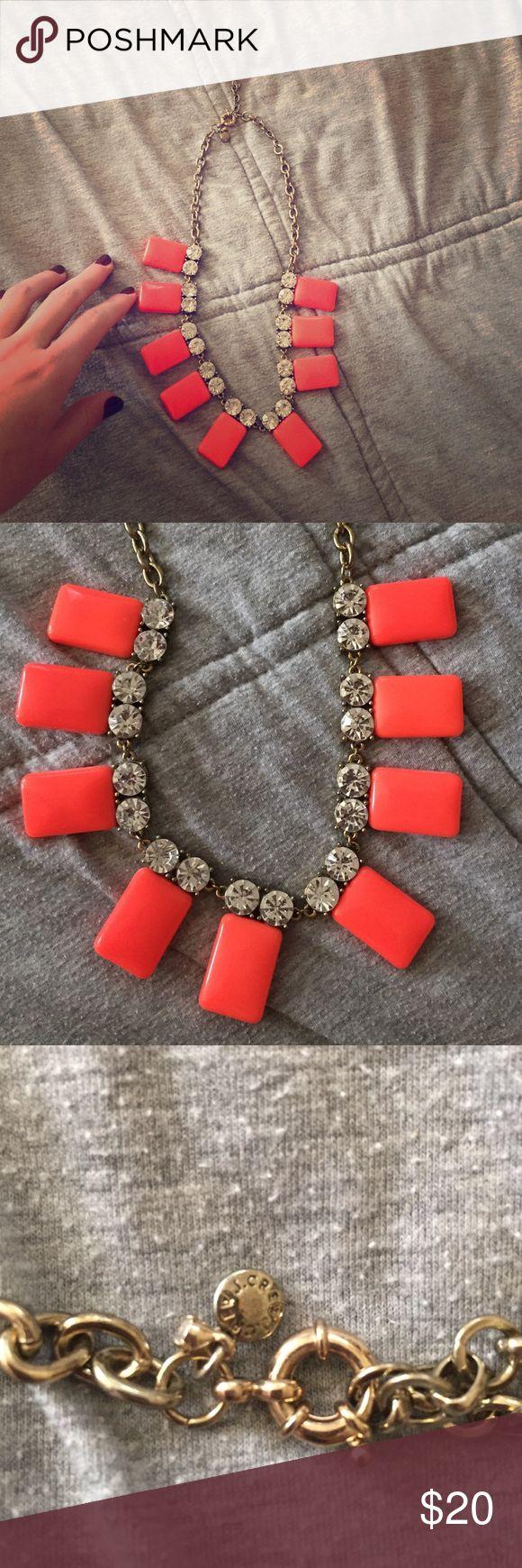 🌟BUNDLE🌟J. Crew coral statement necklace Gorgeous coral statement piece! 🌟BUNDLE for a discount! J. Crew Jewelry Necklaces