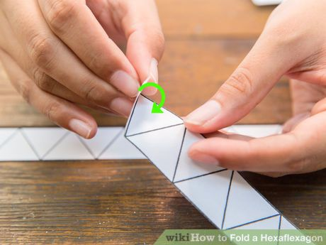 how to make a hexaflexagon out of paper