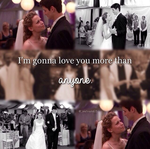 One Tree Hill - Naley  - Nathan Scott (James Lafferty) & Haley James Scott (Bethany Joy Lenz) Always and Forever - Season 3 - Gavin Degraw - More than Anyone