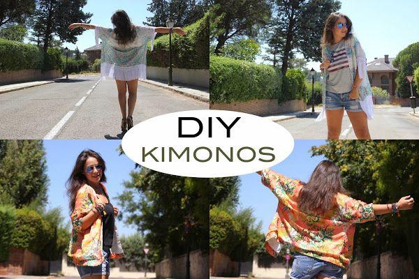 Tutoriales de Kimono DIY (patrones incluidos) | Aprender manualidades es facilisimo.com