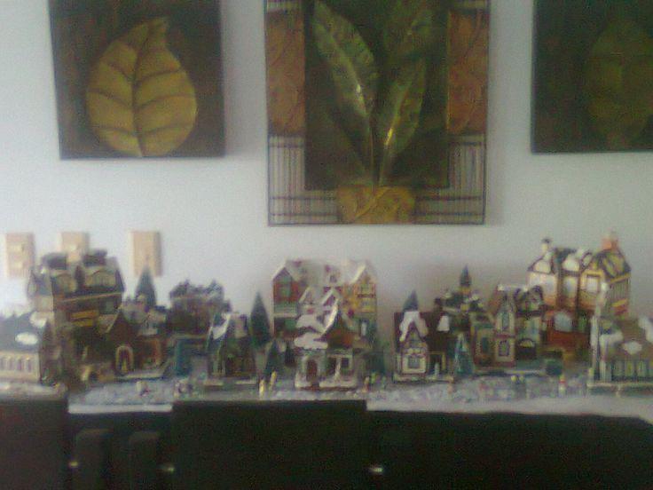 villa navideña
