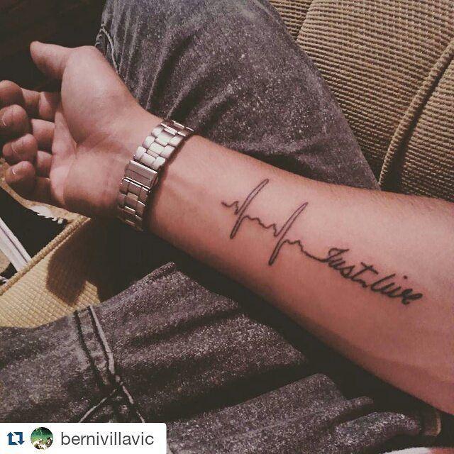 ・・・ Just live! #Tattoo