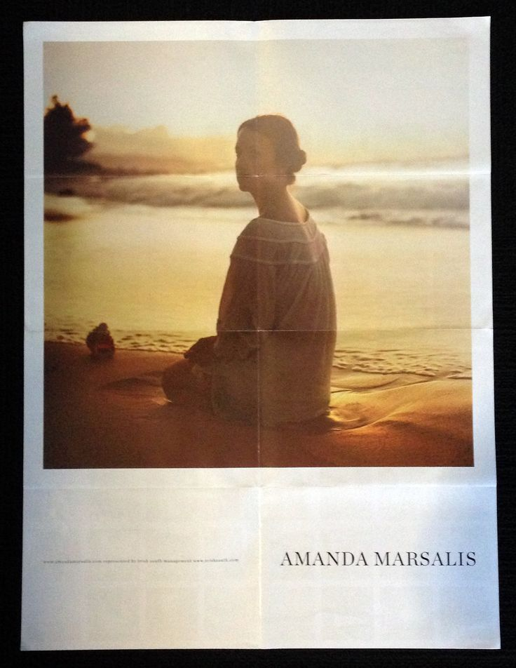 Amanda Marsalis's Poster That Makes Me Wish I Were Someplace With Better LightI've kept this poster from Los Angeles-based photo...