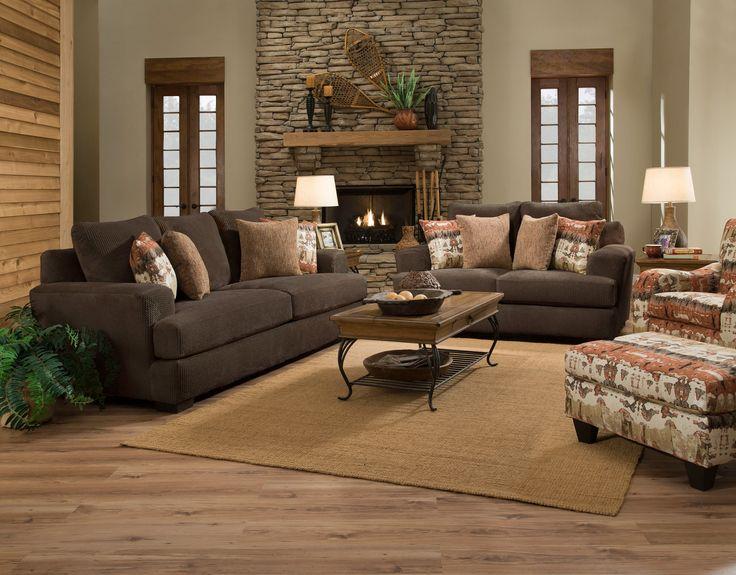Teddy bear chocolate couch set