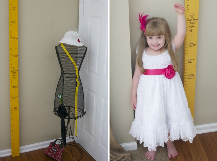 Mary Poppins measuring tape via Particularly Perfect -- must make this for my lil girl's Disney themed nursery!