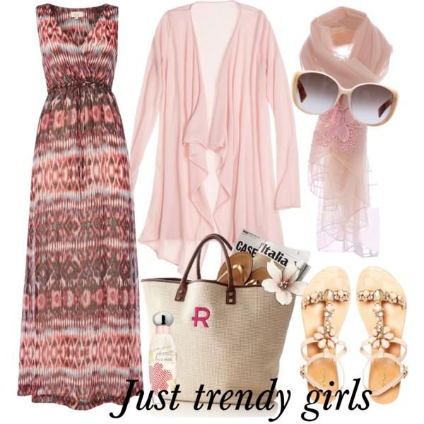 pink maxi dress  Comfortable casual wear for woman http://www.justtrendygirls.com/comfortable-casual-wear-for-woman/
