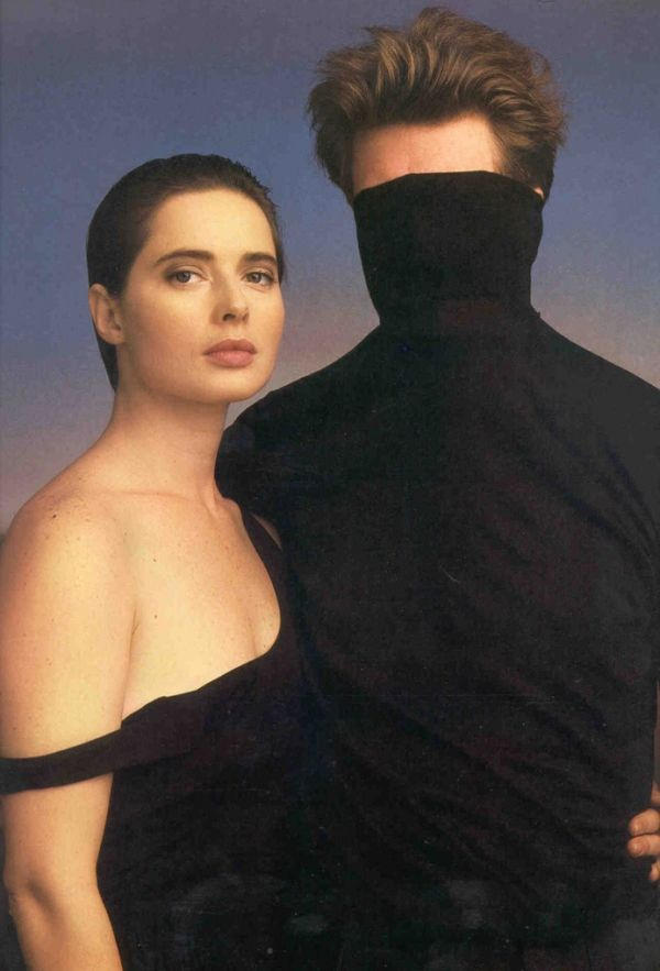 Isabella Rossellini and David Lynch by Annie Leibovitz