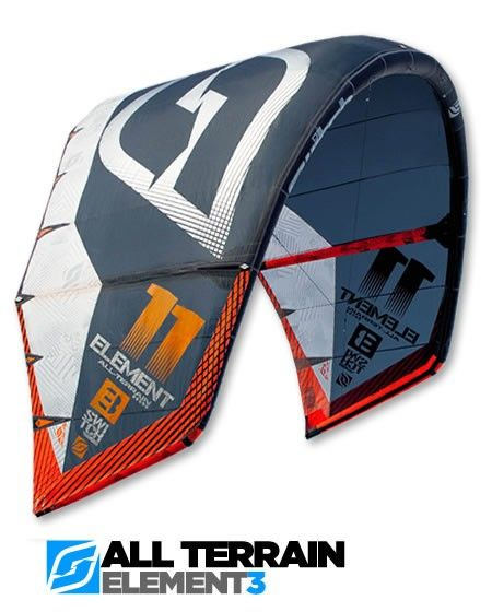 Element3 All Terrain Kite | SwitchKites - Testing