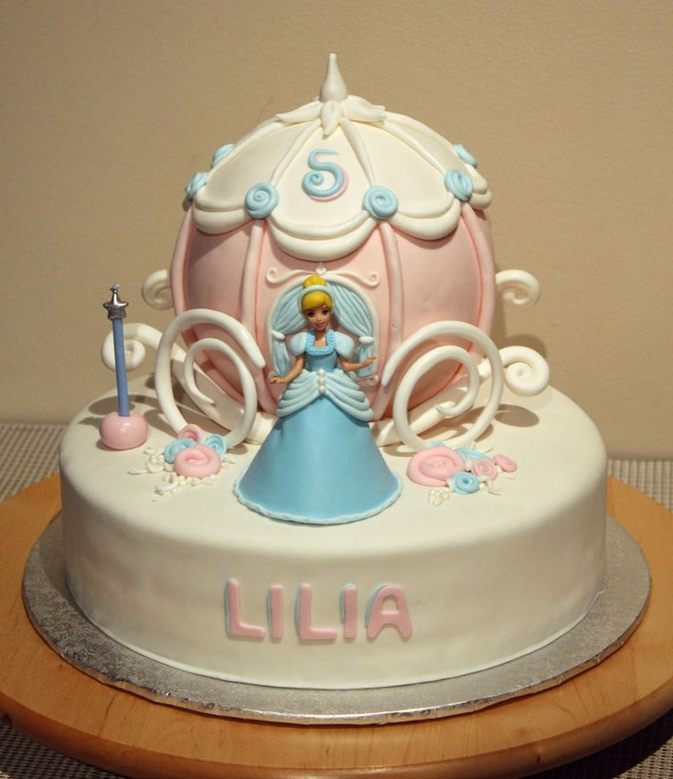 Cinderella and her Carriage Cake
