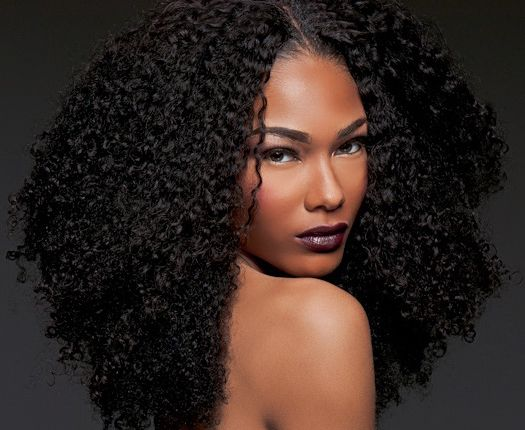 """Our """"For Koils"""" Collection wefted hair is 100% pure virgin hair made to blend with 3B-3C natural hair! Soft, bouncy, and full of curls!"""