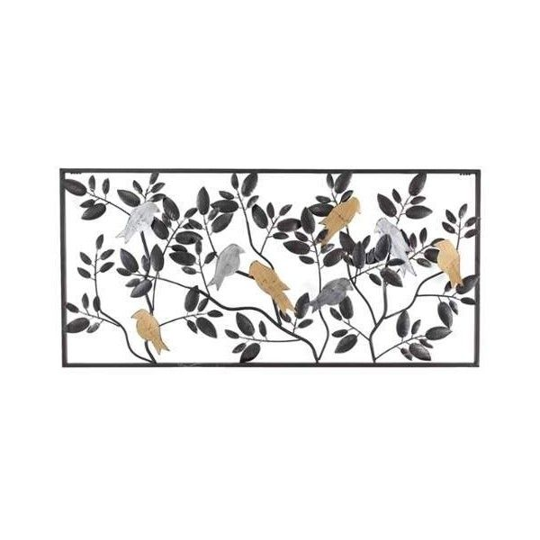 Aspire Home Accents 5928 Harmony Metal Bird Wall Decor Black Home (£50) ❤  Liked On Polyvore Featuring Home, Home Decor, Wall Art, Black, Metal Art,  Wall ...