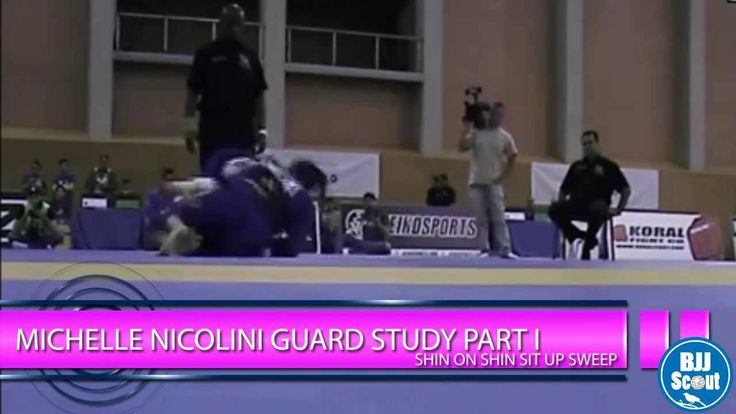 Study on Michelle Nicolini's Situp Sweep Variant