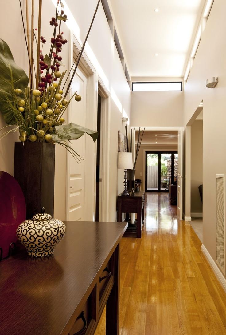 Narrow hallway lighting ideas   best Separadores de espacios images on Pinterest  Folding screens