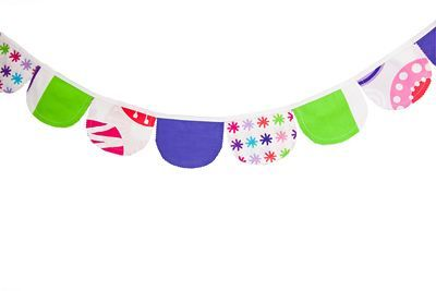 Fun & funky with the Lou Lou curvy bunting