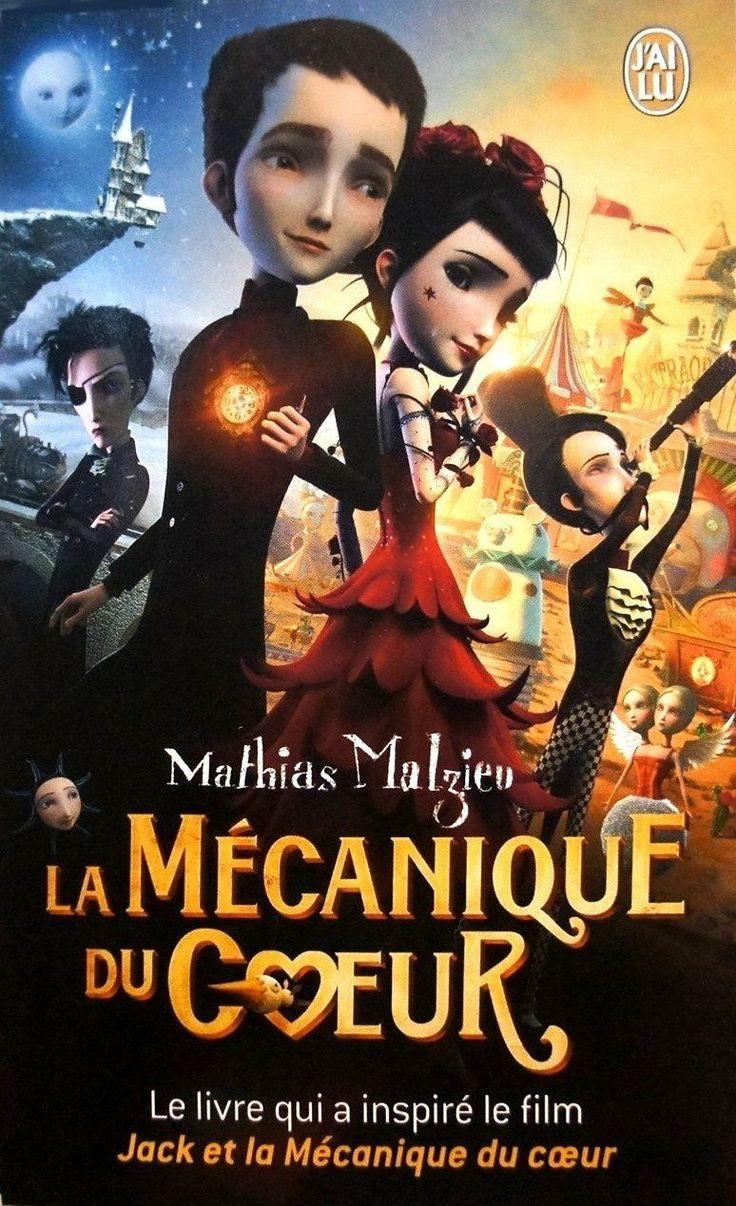 La mécanique du coeur: Amazon.fr: Mathias Malzieu: Livres Un conte moderne que l'on pourrait faire lire aux enfants - un film d'animation a d'ailleurs été réalisé en 2013