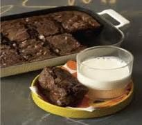 Rocco Dispirito's Low Calorie Brownie Recipe at only 53 calories a serving